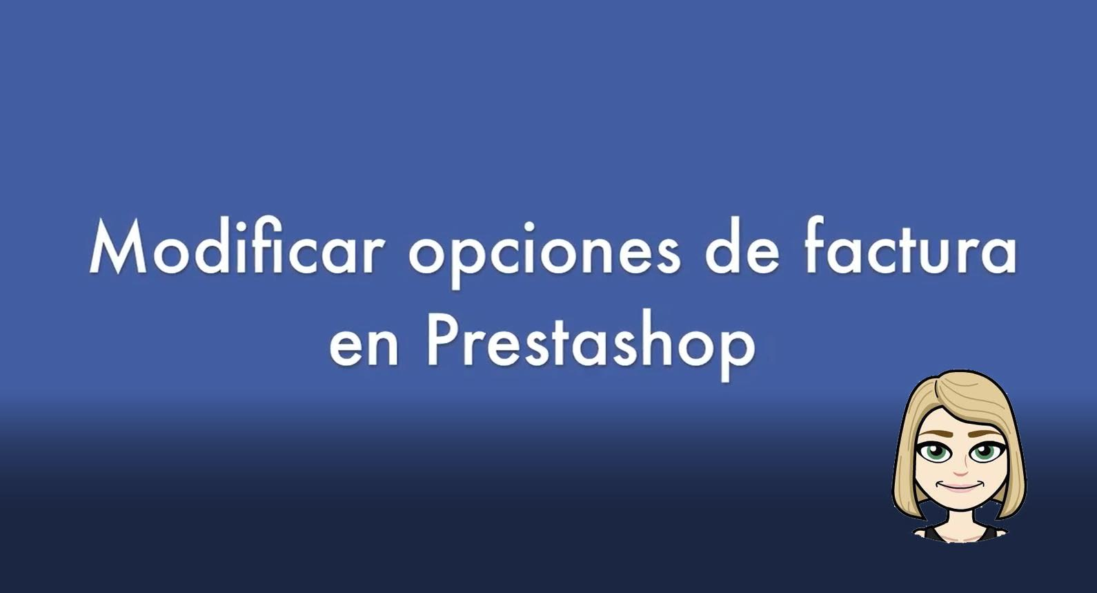 modificar funciones de factura en prestashop