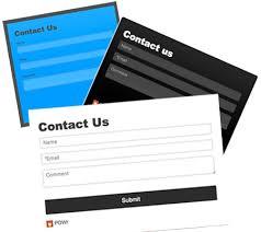 incluye formularios de contacto en tu web
