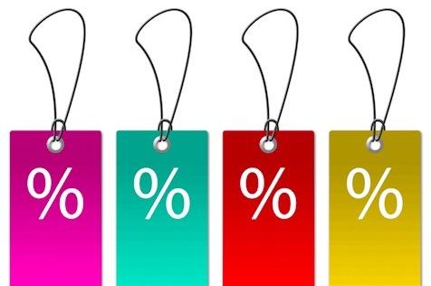 Cómo escribir los descuentos: ¿porcentaje o cifra?