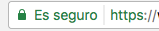 web segura https