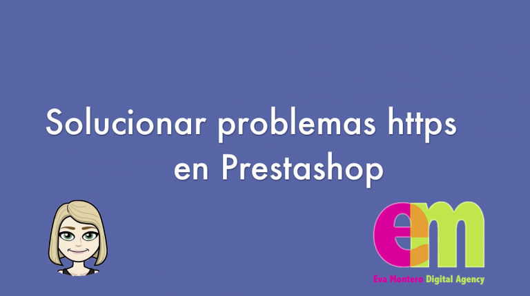 Video tutorial problemas https prestashop