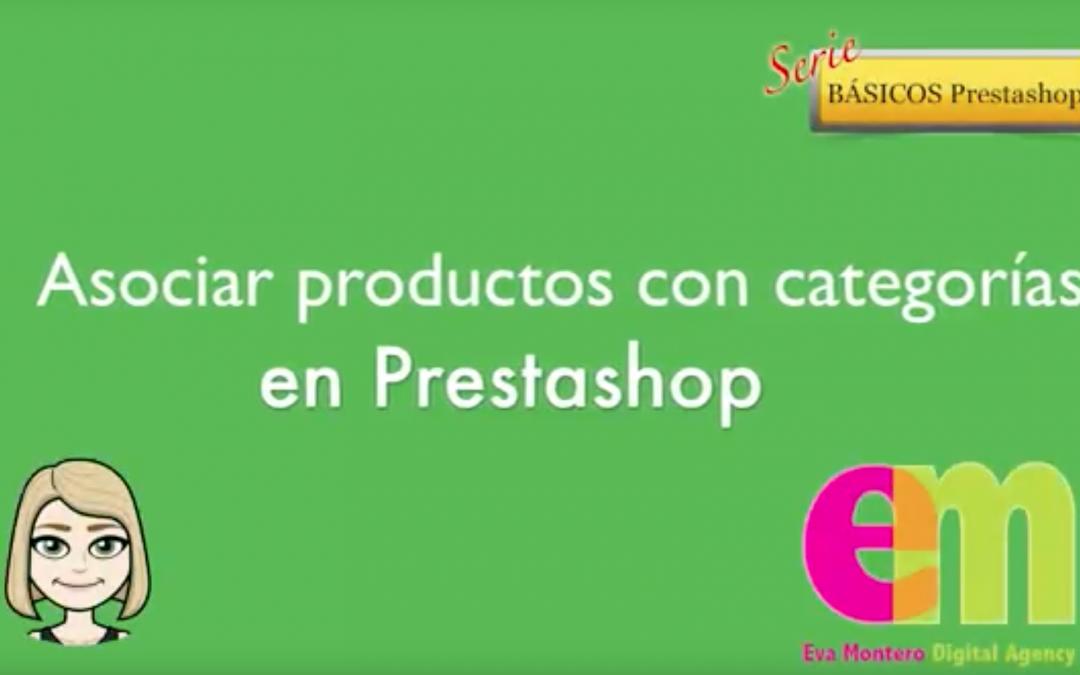 Asociar un producto a una categoría en Prestashop