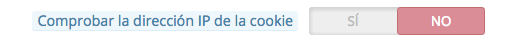 comprobar la direccion ip de la cookie en prestashop